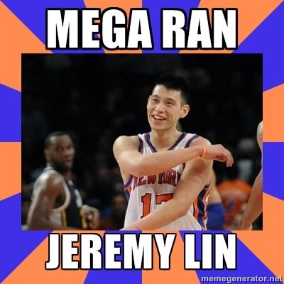 Mega Ran - Jeremy Lin Rap